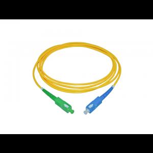 Cordão Óptico Simplex Monomodo SC/UPC SC/APC  3mm 2 Metros  OT-8809-UA