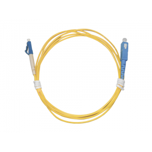Cordão Óptico Simplex Monomodo LC/UPC SC/UPC 2 Metros OT-8804-LS