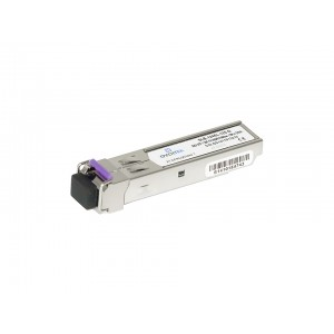 Módulo Mini-Gbic SFP 1.25Gb Bidirecional 120KM Conector LC/PC OT-8610-SF (Par)