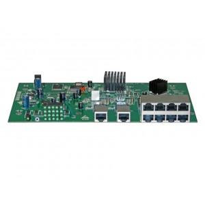 Placa do Switch Gerenciável 10 Portas OT-2310-SIW/UX PLC
